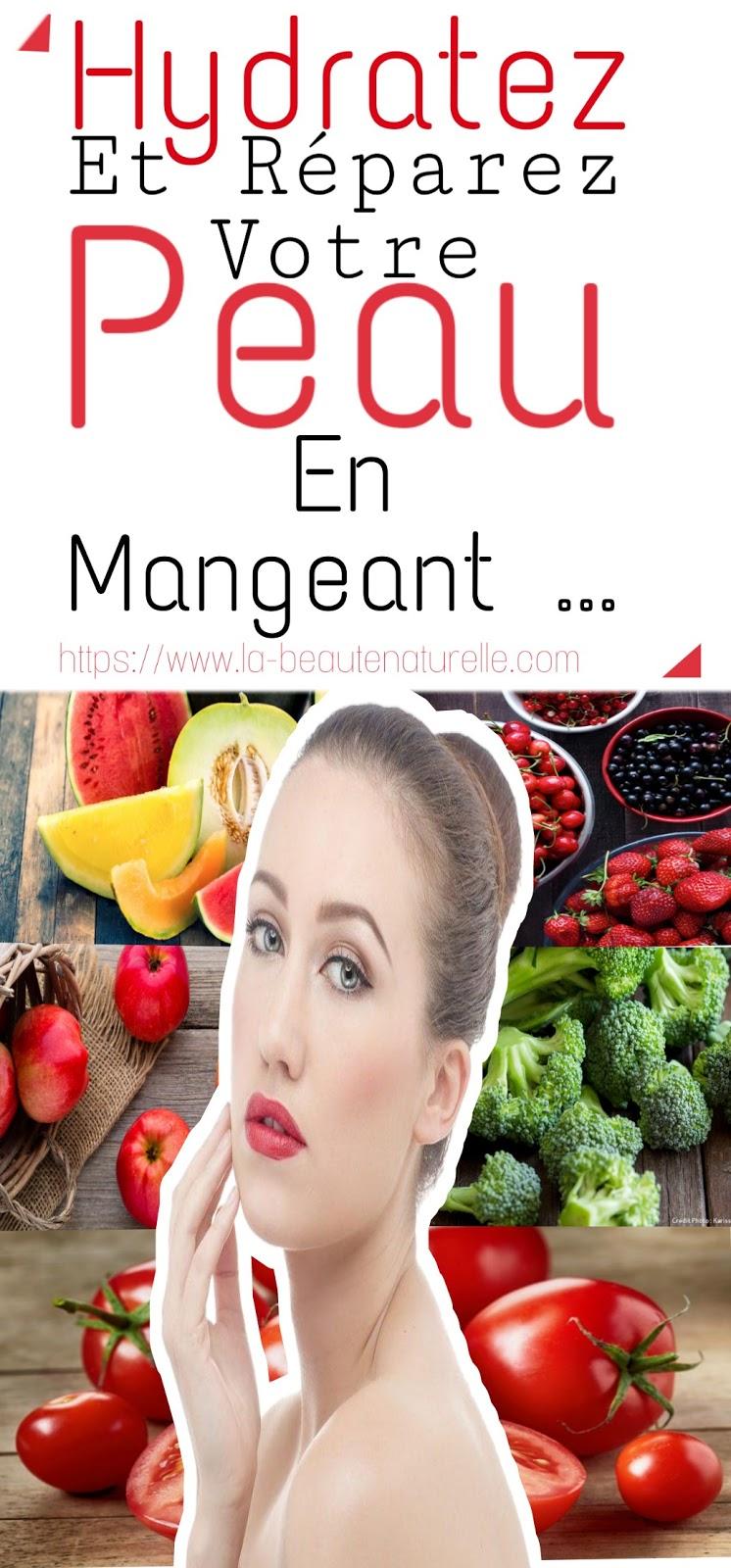 Hydratez Et Réparez Votre Peau En Mangeant ..