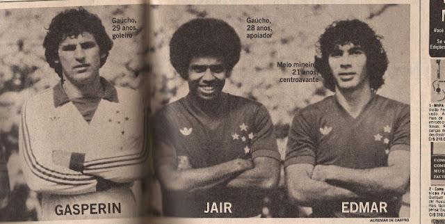 Resultado de imagem para Gasperin Cruzeiro