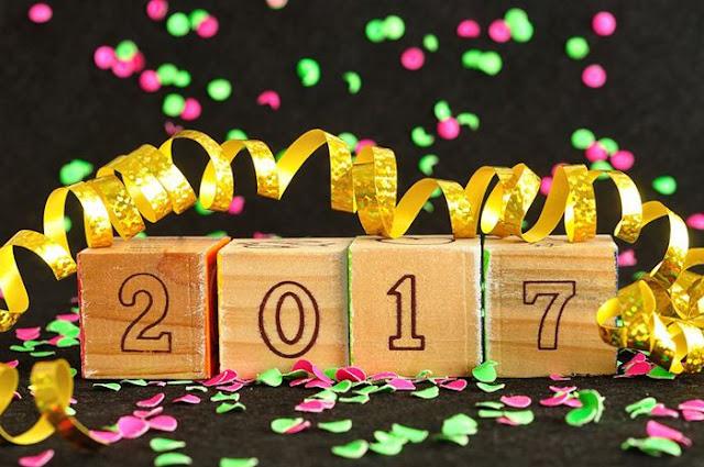 Happy New Year 2017 HD Wallpaper 3