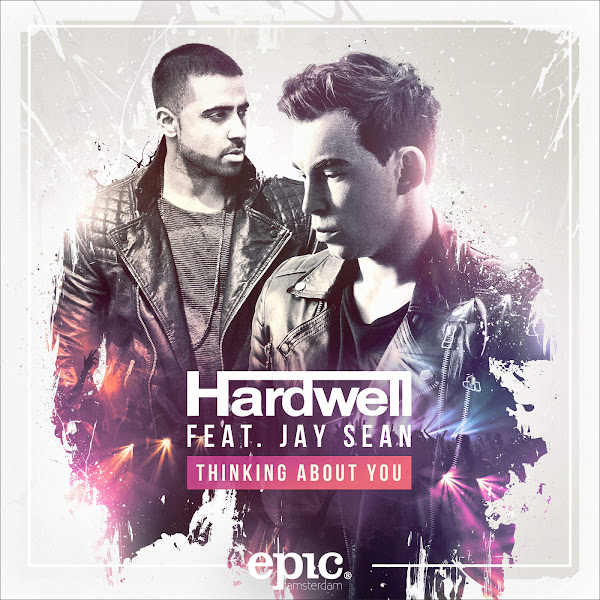 Hardwell & Jay Sean - Thinking About You - Single Cover