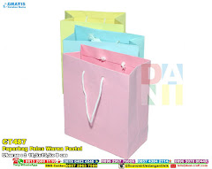 Paperbag Polos Warna Pastel