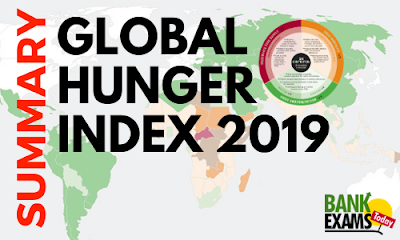 Global Hunger Index 2019- Summary