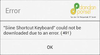 Cara Mengatasi Google PlayStore Error 495, 491, 504, dan Error 941