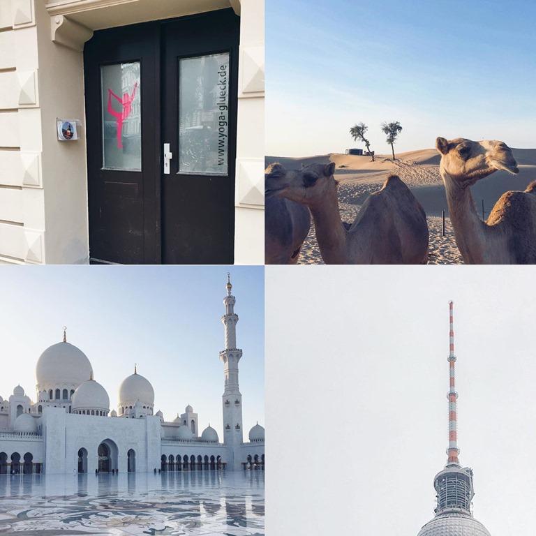 Jahresrücklick 2016, Frollein Pfau, Kölner Blogger, Yoga Glück Köln, Abu Dhabi Wüstentrip, Sheikh Zayed Grand Mosque, Berlin Funkturm  Alex, Alexanderplatz