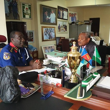 Buhari's Legal Aide, Obno-Obla Visits NSCDC Boss, Promises Prompt Legal Assistance To The Commission