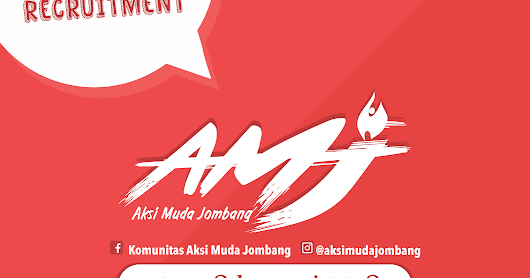 OPEN RECRUITMENT AKSI MUDA JOMBANG