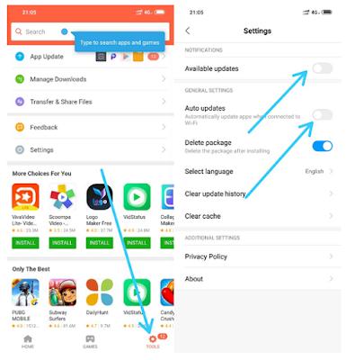 Cara Menonaktifkan Update Aplikasi Otomatis di Ponsel Xiaomi
