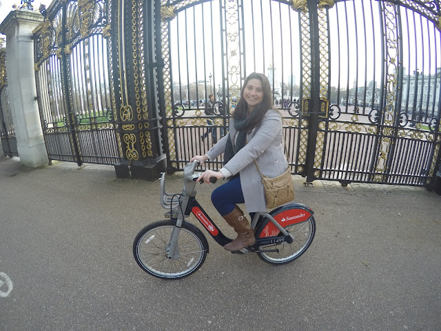 Santander Bikes London Hyde Park