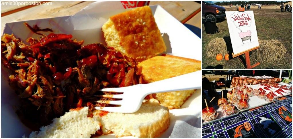 Cosecha De Arándanos en Wareham: Wicked Smokin´ BBQ
