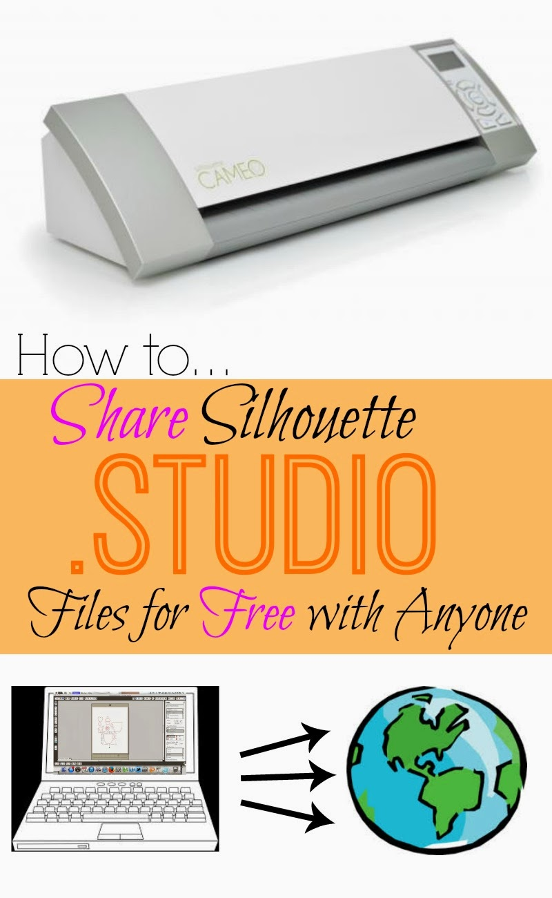 Share, Silhouette Studio, files, Silhouette tutorial