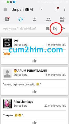 Trik Bbm Terbaru - Cara Posting Foto di BBM Tanpa Ganti DP