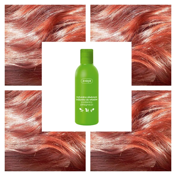 Oliwkowa odżywka do włosów z ziaji
