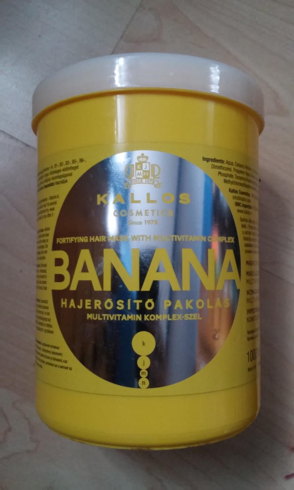 Kallos cosmetics Banana