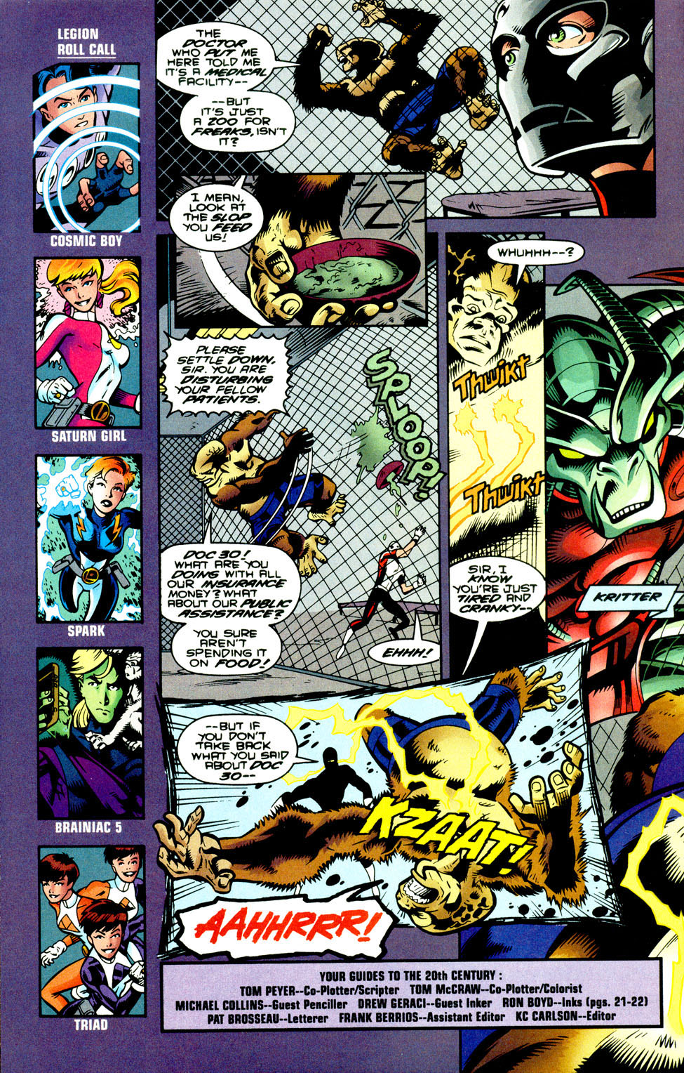 Legion of Super-Heroes (1989) 93 Page 22