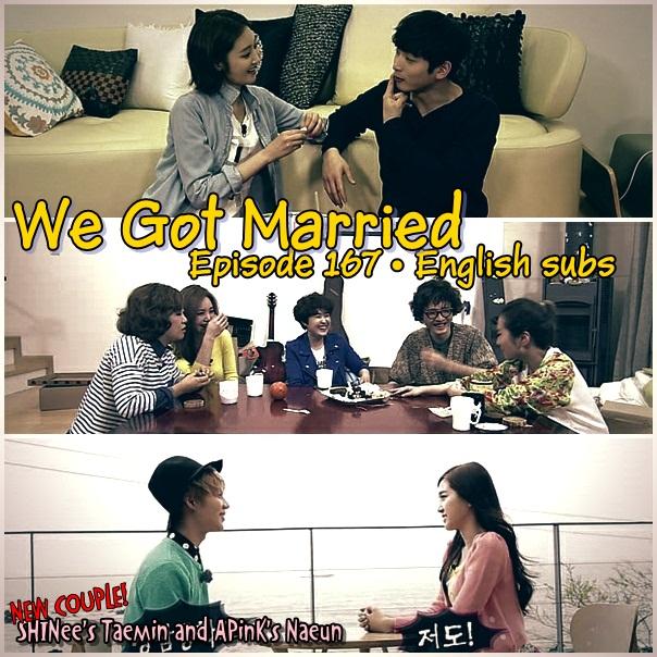 We Got Married Episode 167 [English Subs] | Amierose Blog