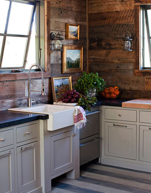 Home Quotes: Theme Inspiration: Rustic cottage style decor ... on Rustic:mophcifcrpe= Cottage Kitchen Ideas  id=81580