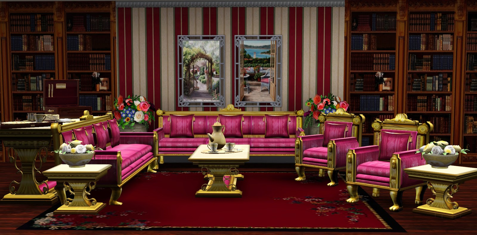 Ladesire 39 s creative corner royal living by ladesire for Royal interior living room