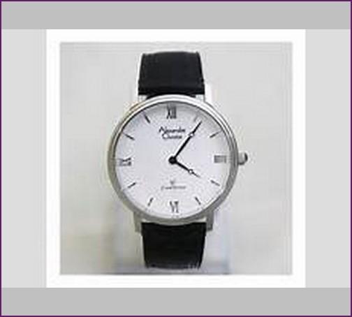 jam tangan alexandre christie chronograph