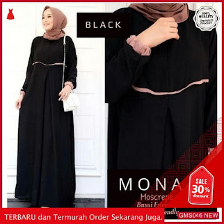 GMS046 KRSRB046M38 Moana Basic Dress Moscrepe Size Dropship SK2016442724
