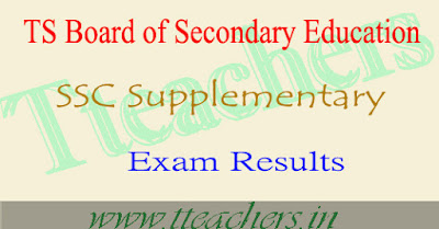 Telangana/TS SSC 2018 Supplementary Results 10th result date