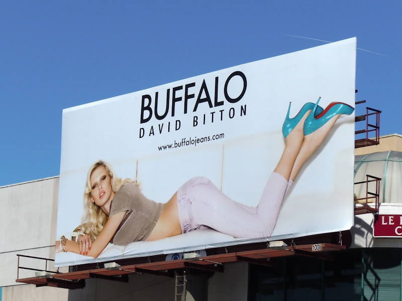 Buffalo Jeans April 2011 billboard