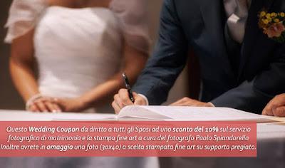 fotografo matrimonio prezzo