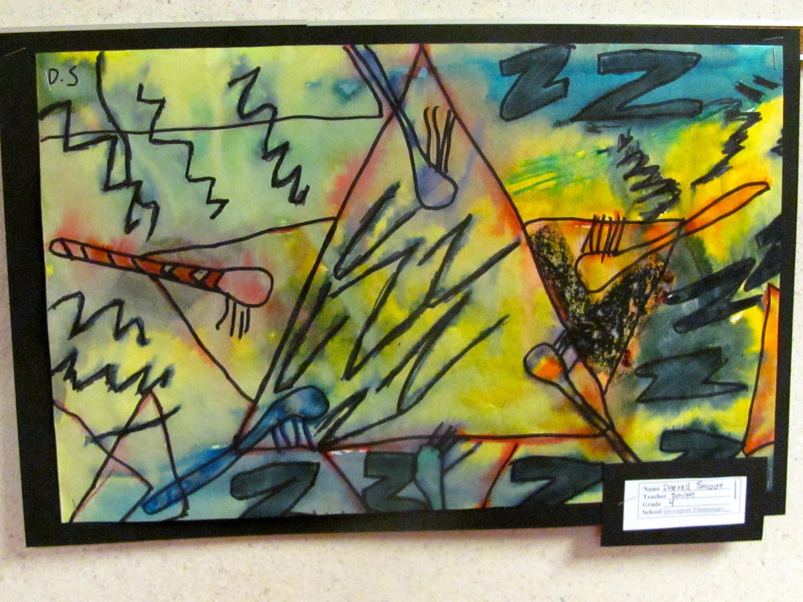 B An Artist 4th Grade