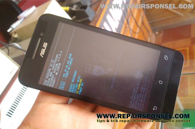 Cara Flashing Asus Zenfone 4 T00I 100% Sukses