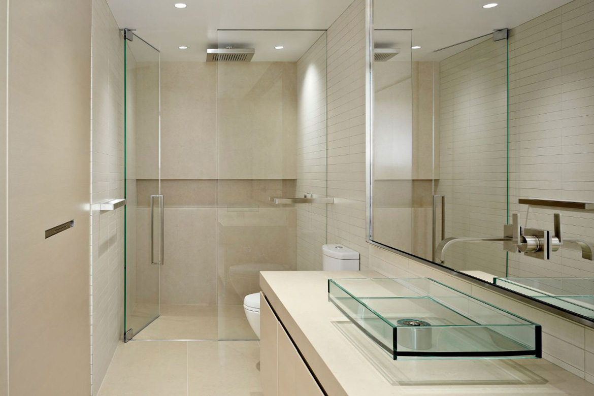 Frameless Shower Doors For Small Bathrooms.5 Types Of Shower Doors For Small Bathroom To Look Bigger