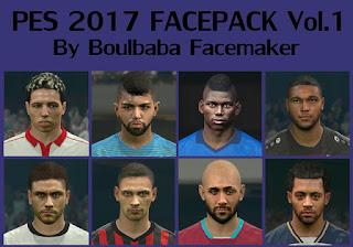 Boulbaba PES 2017 Face Pack V1