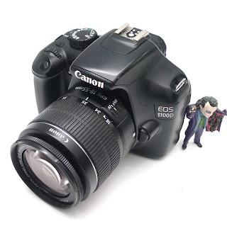 Kamera DSLR Canon EOS 1100D Bekas