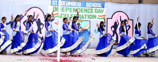 Independence-celebration-at-St-Columbus-School-faridabad