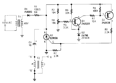 Simple Capacitor Discharge High Voltage Generator Circuit