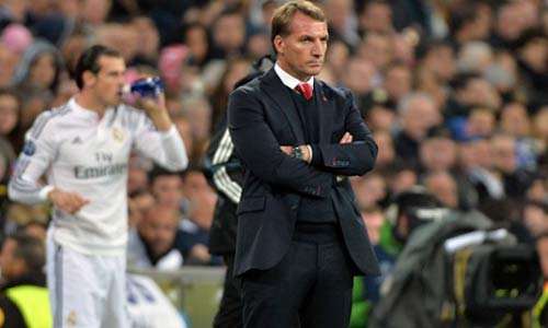 Huấn luyện viên Rodgers của Liverpool