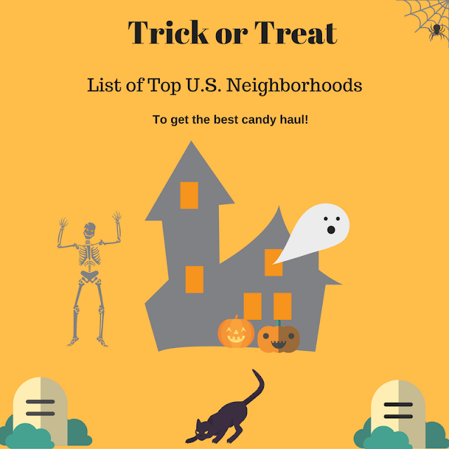 Trick or Treat list of top U.S. cities for candy haul