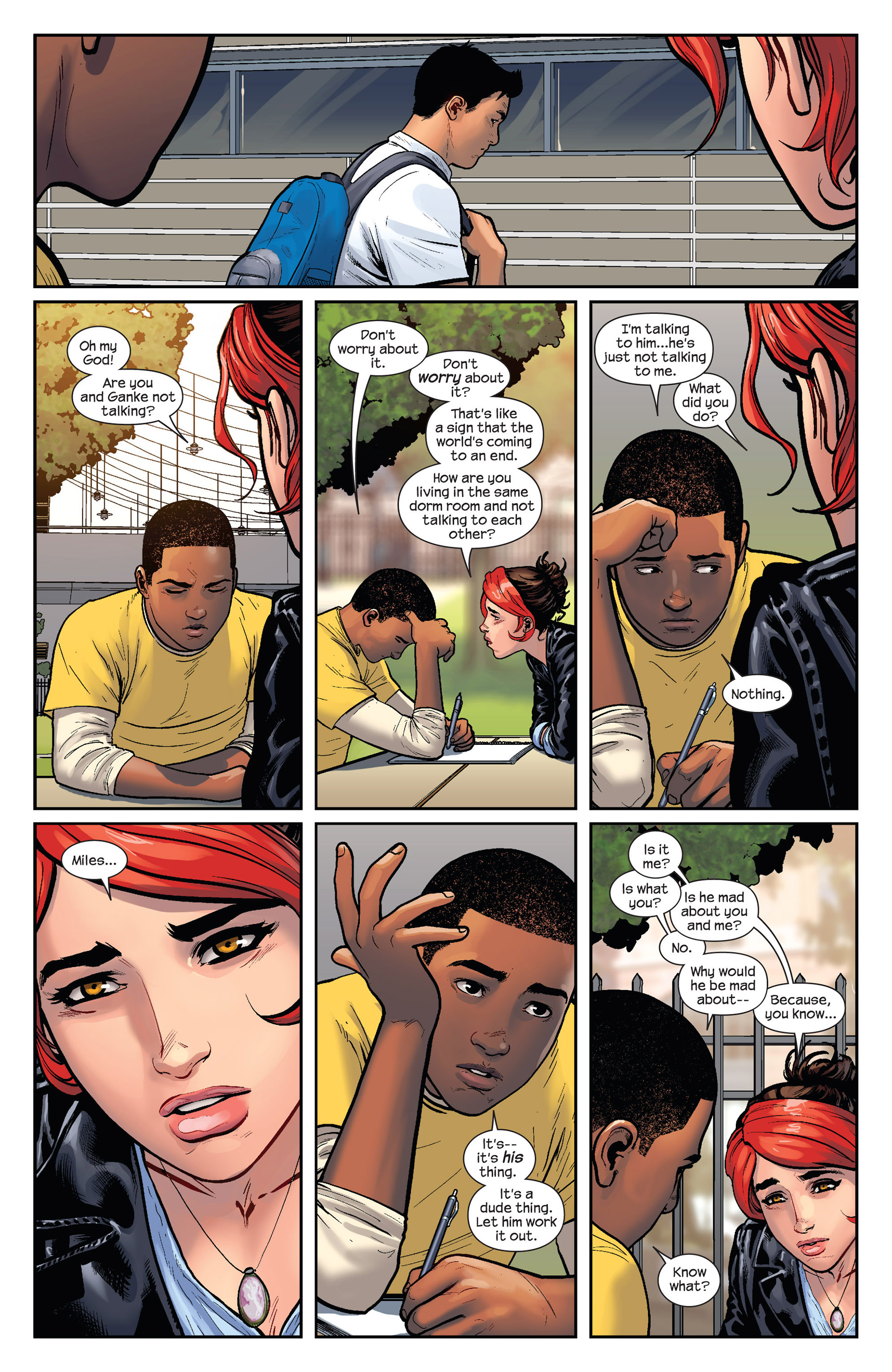 Read online Ultimate Comics Spider-Man (2011) comic -  Issue #25 - 6
