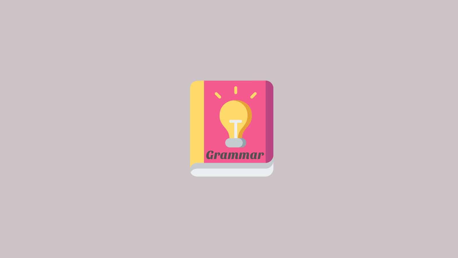 Daftar Isi - Grammar