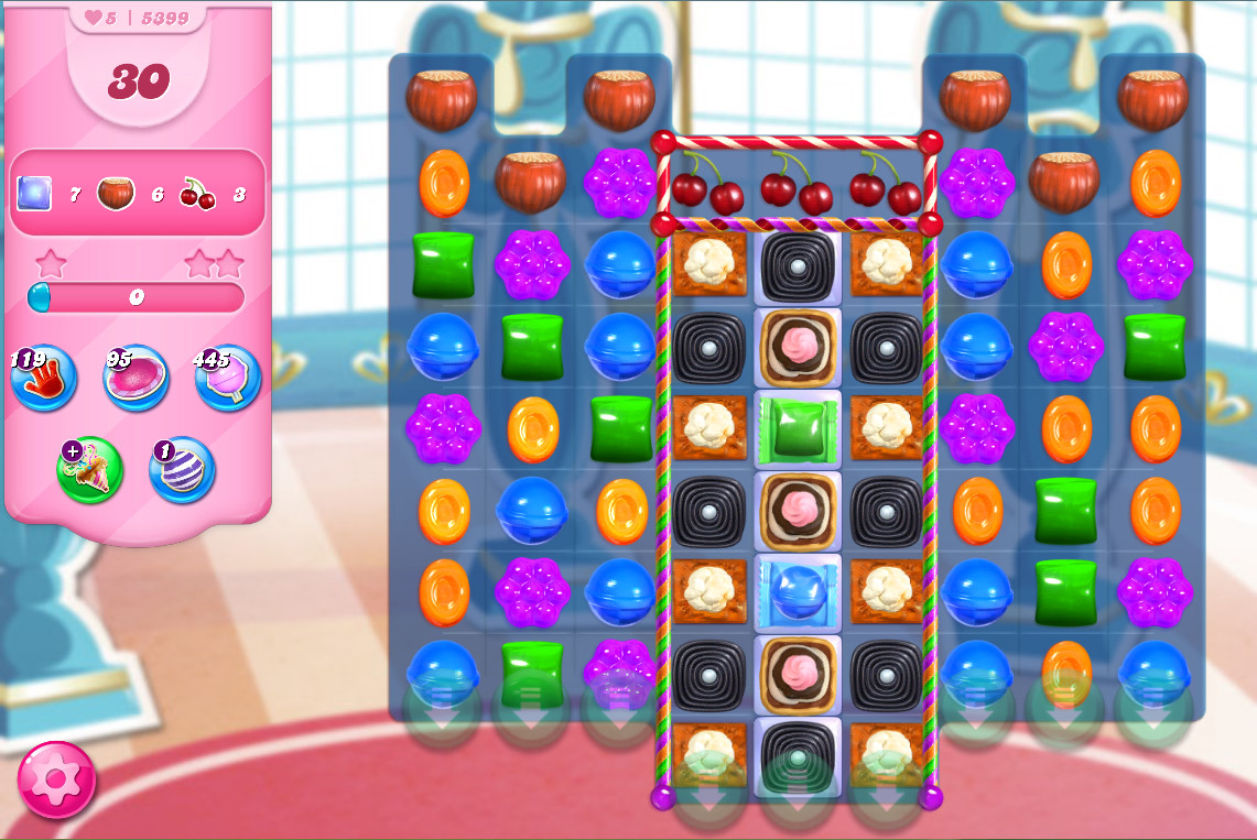 Candy Crush Saga level 5399