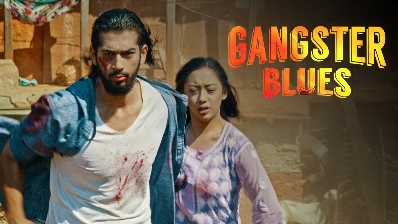 nepali film gangster blues poster