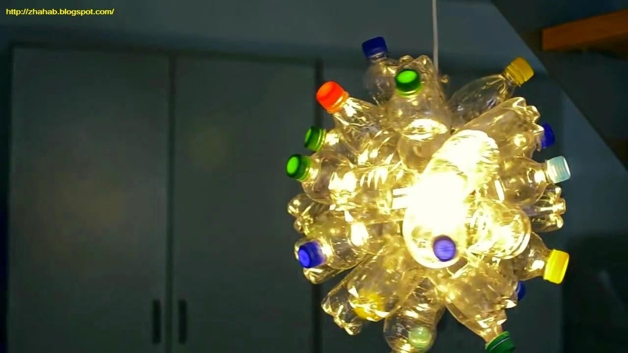 Cara Membuat Lampu Dari Botol Plastik Bekas - Buatan.