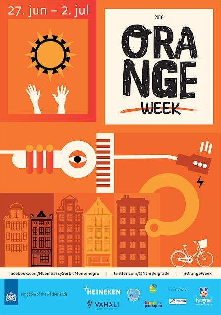 Orange Week: Nedelja holandske kulture u Beogradu