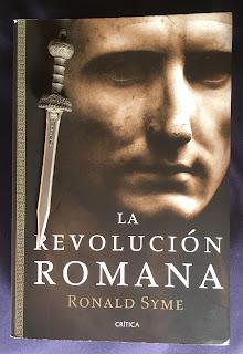 Portada del libro La revolución romana, de Ronald Syme