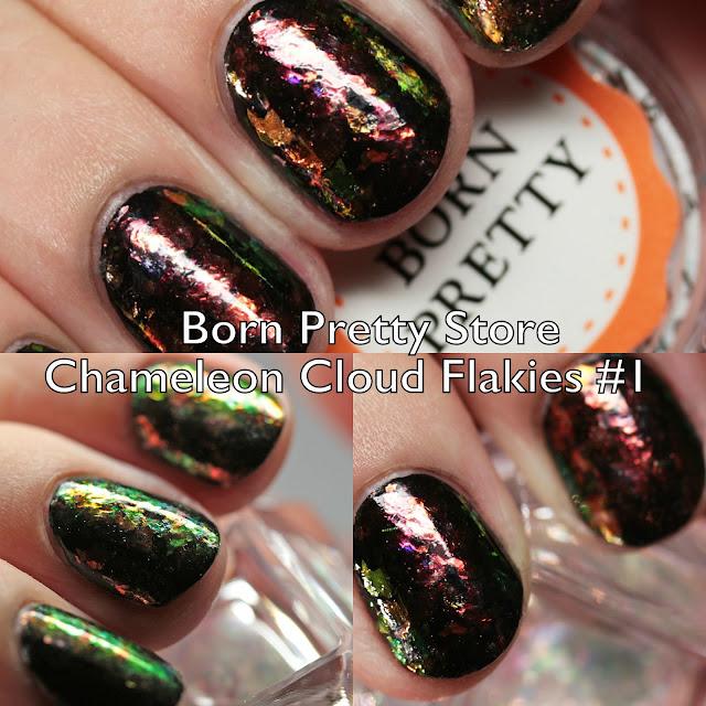 Born Pretty Store Chameleon Cloud Iridescent Flakies #1