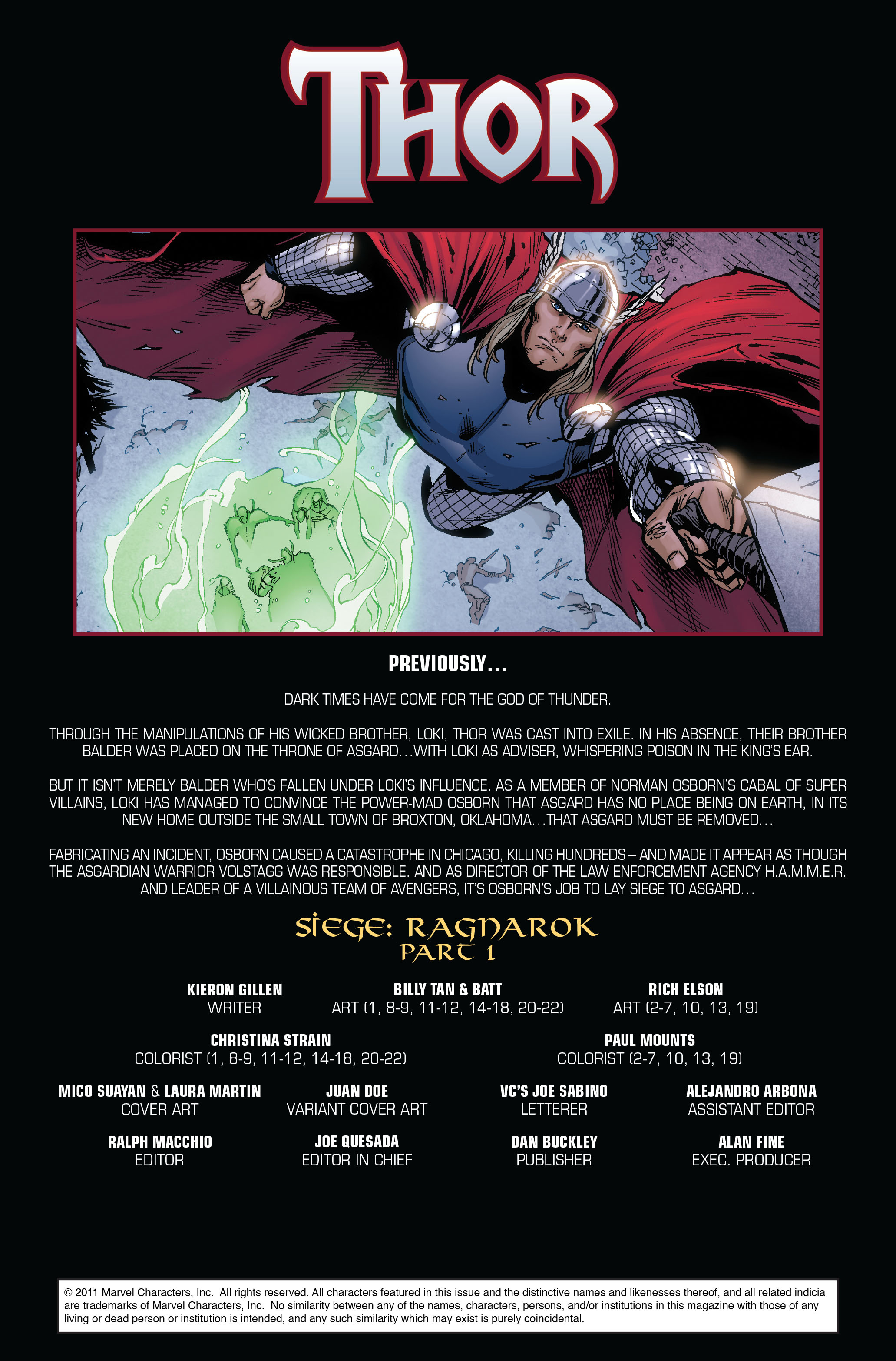 Thor (2007) Issue #607 #20 - English 2