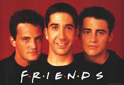 ابطال مسلسل Friends