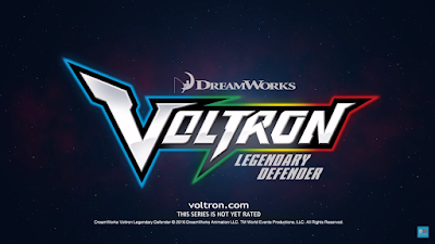 Nuovo trailer per Voltron: Legendary Defender