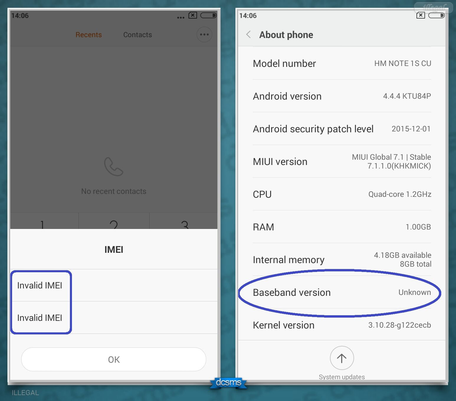 How to Solve Unknown Baseband, Invalid IMEI On MTK Android 2018