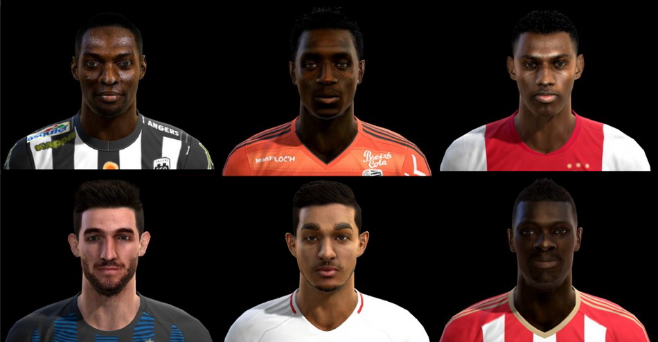 PES 2013 Facepack Update 16/01//2017 by Pablobyk