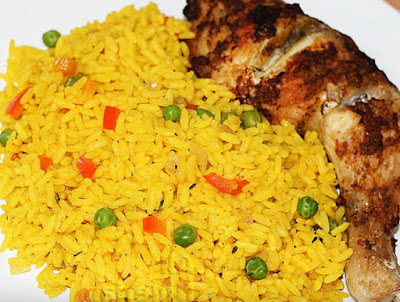 Naija Kitchen: How To Cook Turmeric, Nigerian Yellow Rice ...