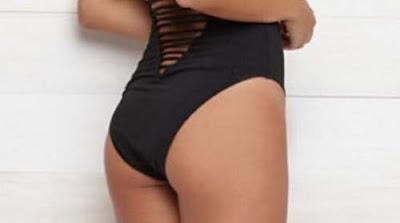 Vùng mông thâm đen làm bạn kém tự tin khi mặc bikini